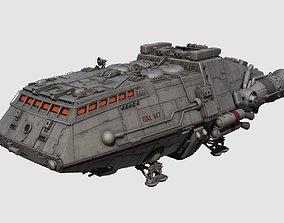 Colonial Shuttle 3D