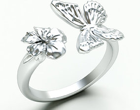 Ringmodel129- Monarch Ring engagement