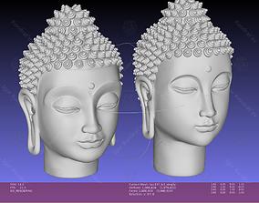 Buddha head sculpture 2 styles 3D print model