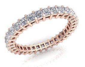 Diamond Ring 3d Model Print engagem gold