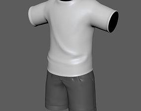 3D Shirt-Shorts