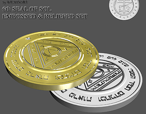 6th Seal of Sol 3D print model