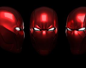Red Hood Rebirth Helmet 3D Printable hobby-diy