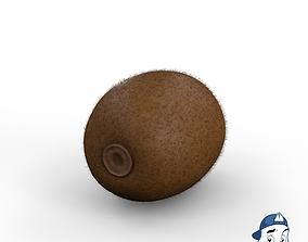 3D PBR Kiwi Fruit