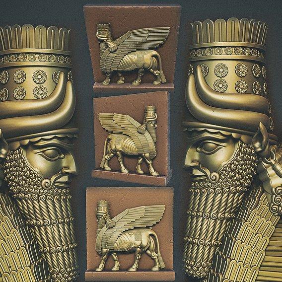 Assyrian protective deity