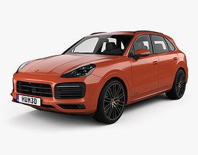 3D Porsche Cayenne GTS 2020 2022