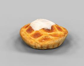 3D model Frangipane Cake