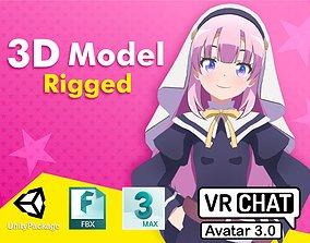 3D model Hina kamisama ni natta hi VRChat