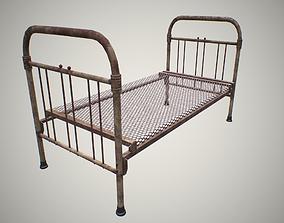 3D asset Rusty bed