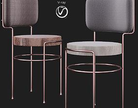 Brazilian IAIa Chair by Gustavo Bittencourt 3D asset