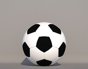 3D game soccerball