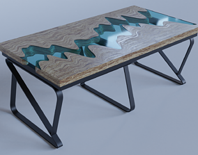 River Table 3D