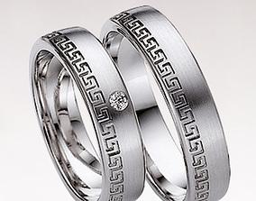 Wedding ring 039 3D printable model