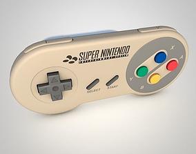 Super Nintendo Controller 3D