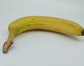 Realistic - Banana 3D asset