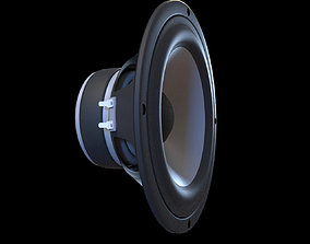 Audio Speaker Bass 3D model
