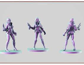 3D printable model Cyber girl