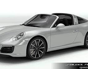 Porsche 911 Targa 2018 3D model gt