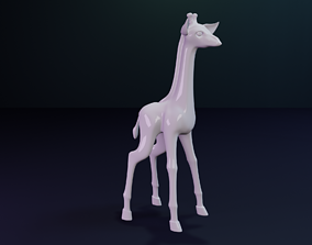 Giraffe Figurine 3D printable model
