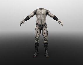 SCI-FI DRESS 3D asset