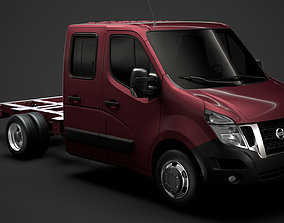 3D Nissan NV400 CrewCab DW E20 Chassis 2014
