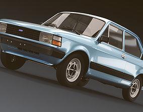 antique Fiat 147 3D