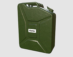 Petrol Jerry can 3D asset