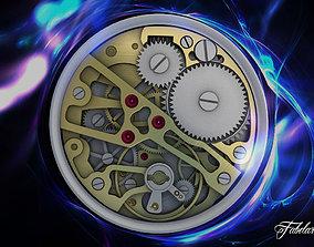 Watch mechanism 3D cog