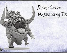 DeepCave Wrecking Team -UNIT- 28mm 3D printable model