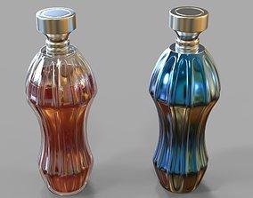 3D model translucent Perfume Bottle
