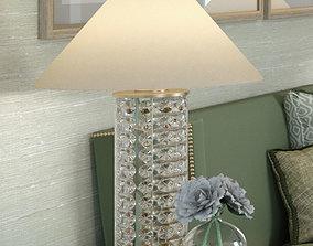 3D Hudson valley lighting Shelby table lamp