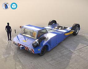 Towbarless Aircraft Tractors LTD TPX-200-S blue 3D model