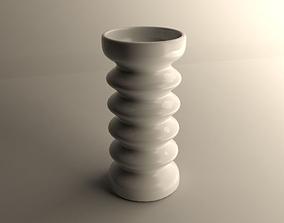 3D print model Modern vase flowers