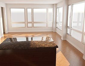 BASE INTERIOR - LIVING DINING ROOM 3D