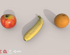 Game Ready Fruit D180302 3D asset