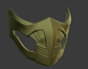3D print model Scorpion Mask Mortal Kombat 11 and X 1