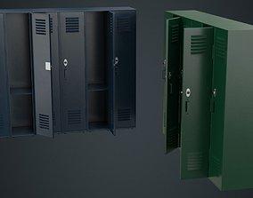 Locker 1A 3D model