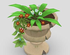 3D model realtime Flower