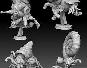Nautiloid Horror Megapack undead 3D printable model