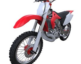 Motorbike 3D asset realtime
