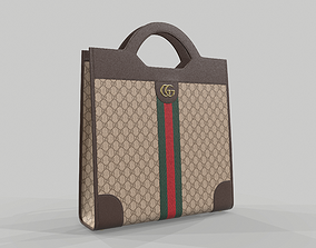 3D model Gucci Ophidia GG top handle bag tote