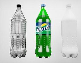 3D sprite bottle coca