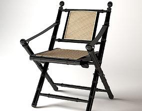 3D Folding Chair Bolsena Eichholtz lounge