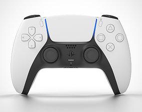 PS5 DualSense Controller 3D model entertainment