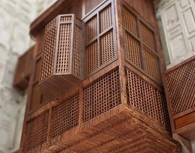 3D model Islamic Mashrabiya