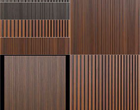 3D model Wooden wall panels Leto Parallelo