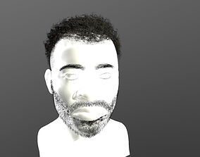 Real-time hair 7 3D asset