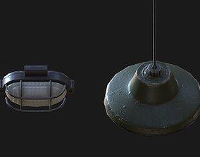 Old Lamps 01 3D asset