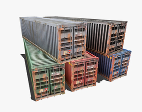 Container Pack 3D asset