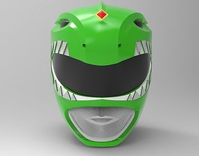 Green Ranger Helmet from MMPR for 3D printing